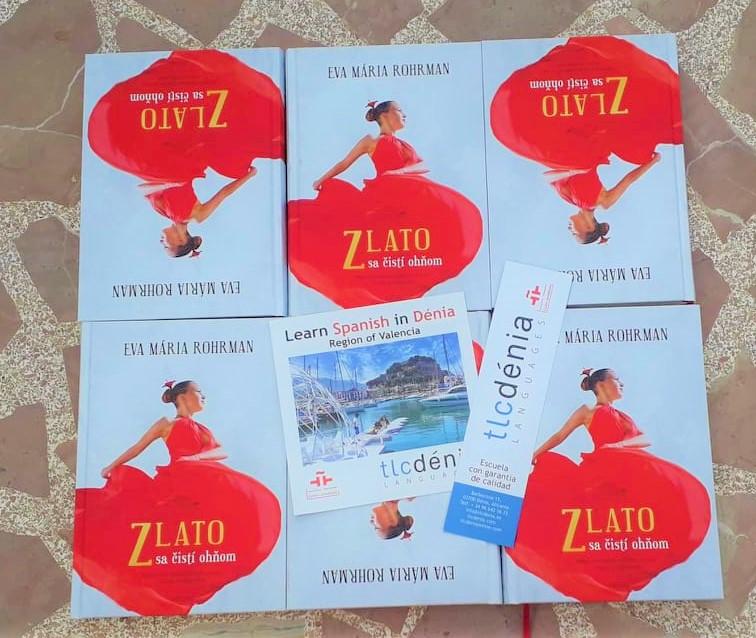 Libro inspirado en el curso de español TLCdenia