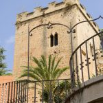 Tower of the castle in Denia in Spain