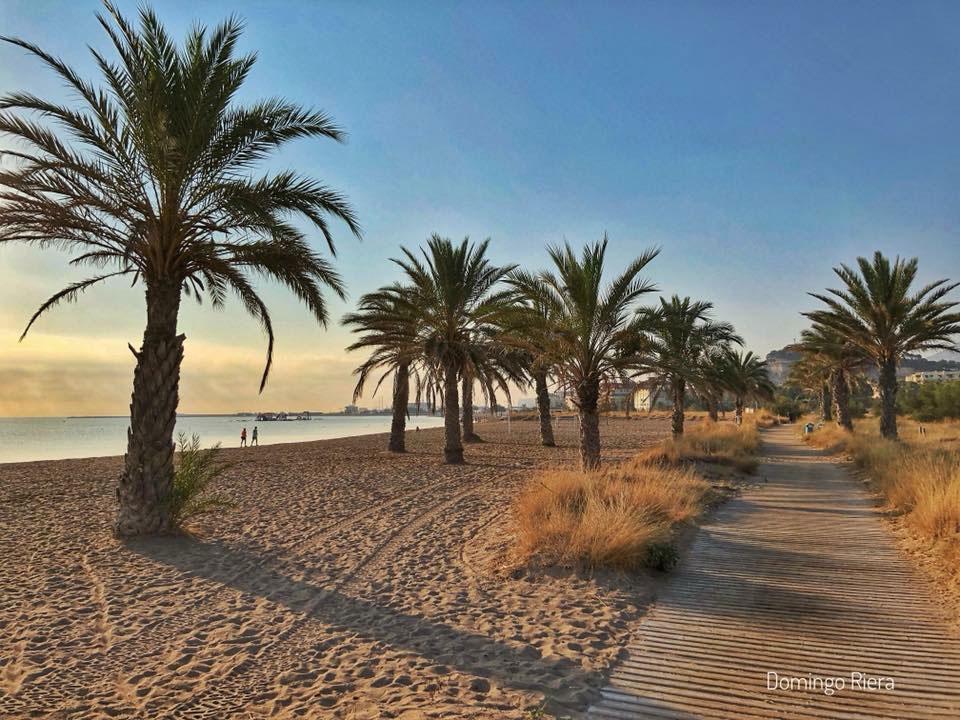 denia sandy beach in Spain