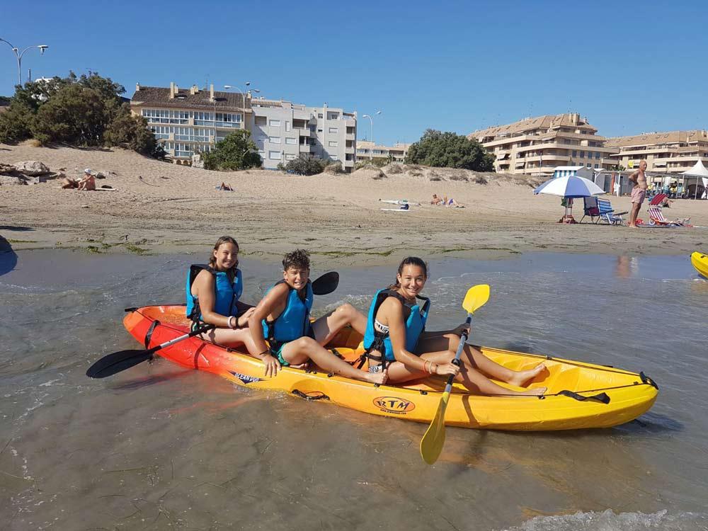 Denia water sports in Spain