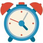 dibujo icono horario ruso