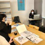 Estudiantes aprendiendo español en España, en Denia