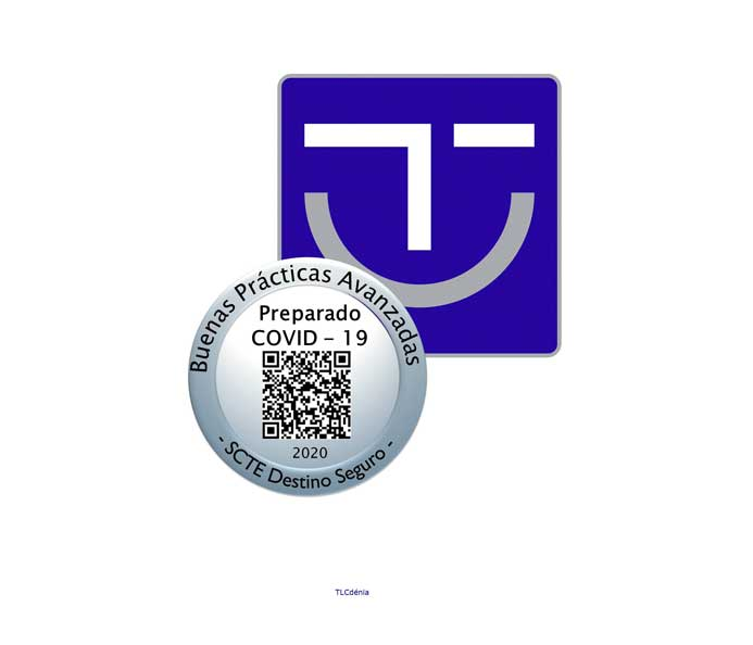 Logo del certificado servicio turístico seguro SICTED